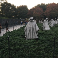 Korean War Memorial, Washington DC